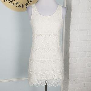 H&M layered lace dress
